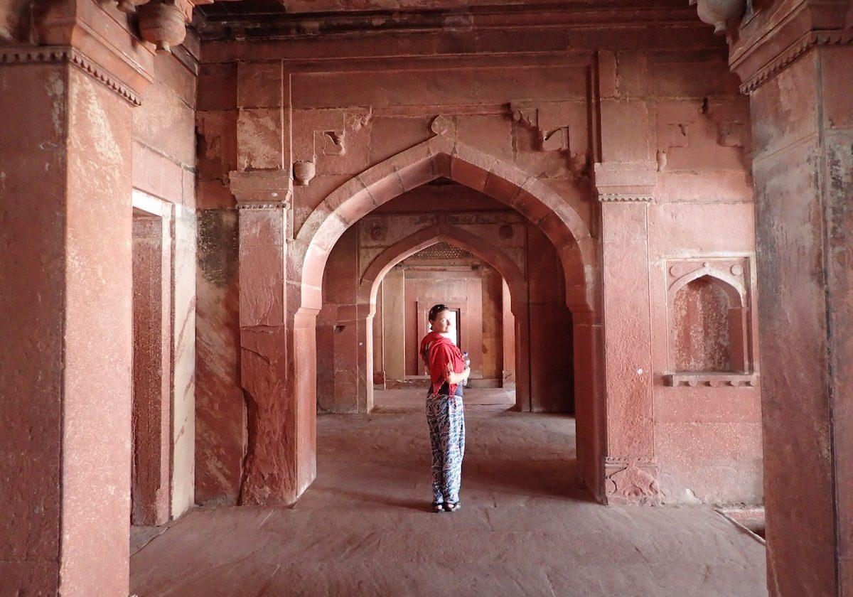 Fatehpur Sikri arch